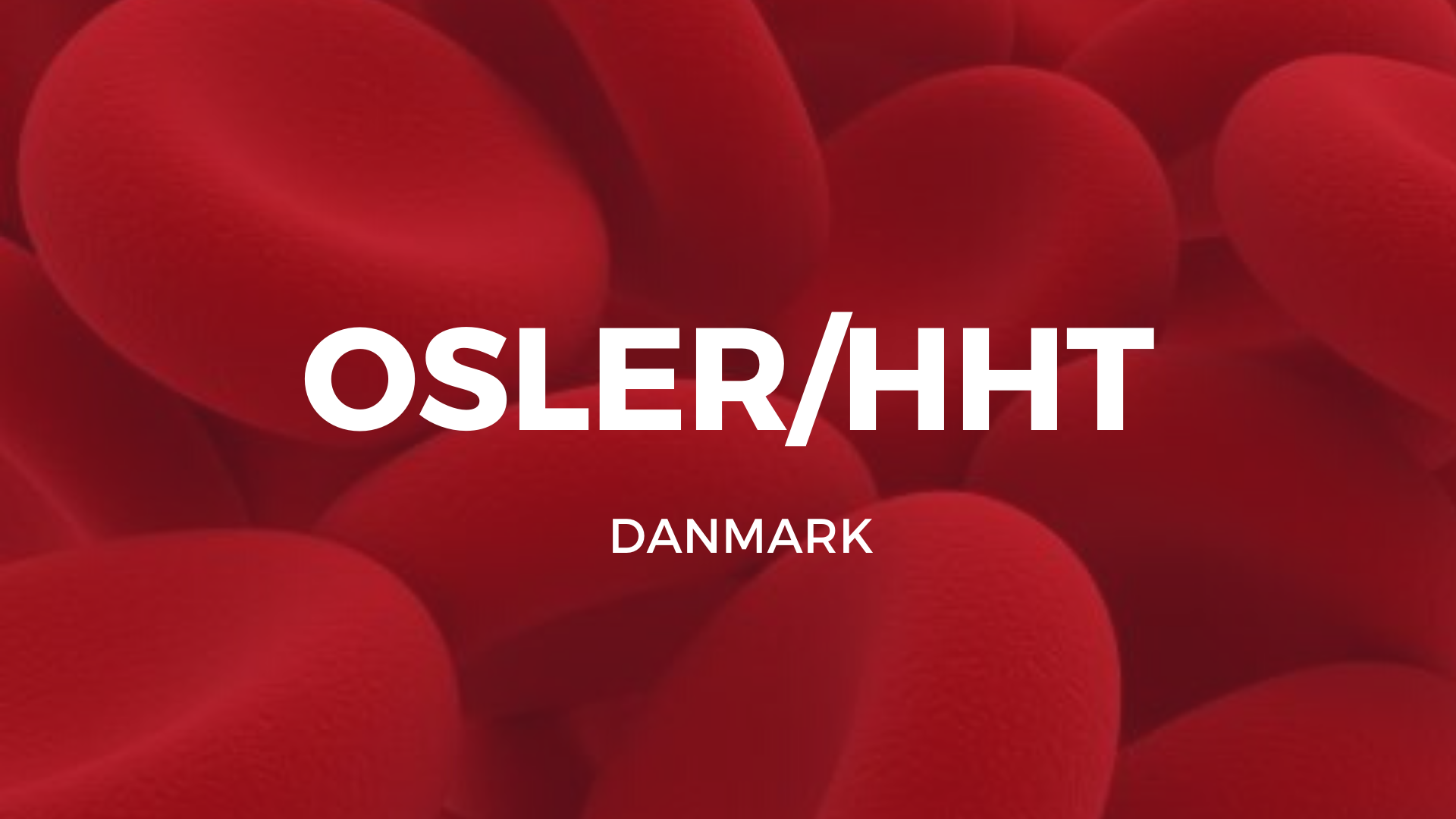Patientforeningen for Osler patienter i Danmark